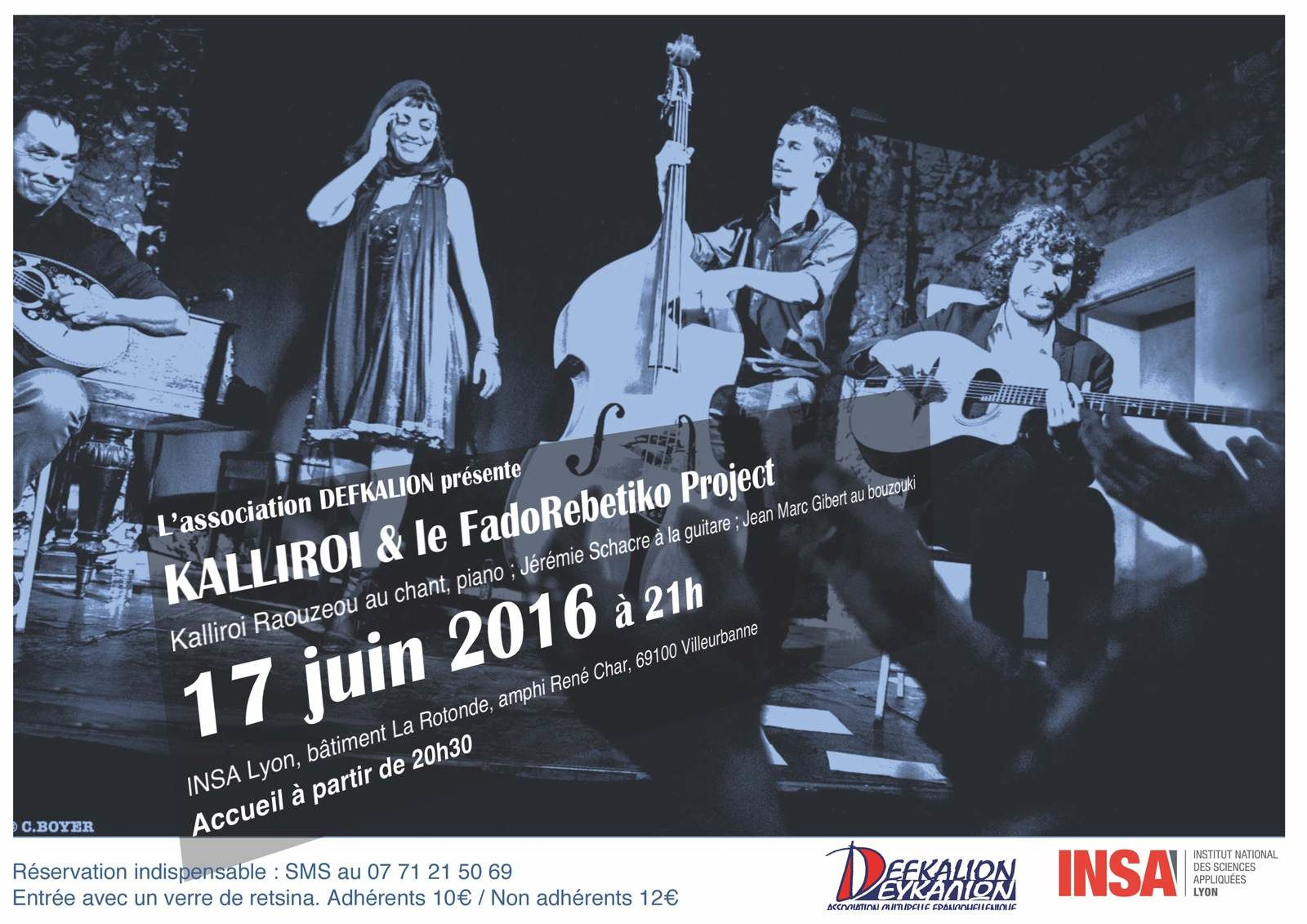 Concert de Kalliroi Raouzaiou vendredi 17 juin 2016