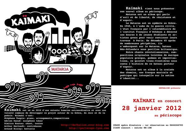 kaimaki concert programme